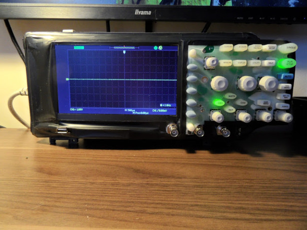 Adding touch screen to Siglent SDS1022c Oscilloscope