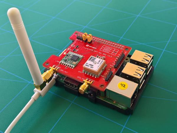 """A LoRaWAN """"The Things Network"""" Gateway for Windows IoT Core"""