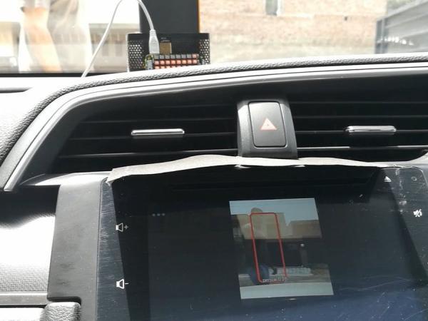 Pre-Collision Assist with Pedestrian Detection - Honda Civic
