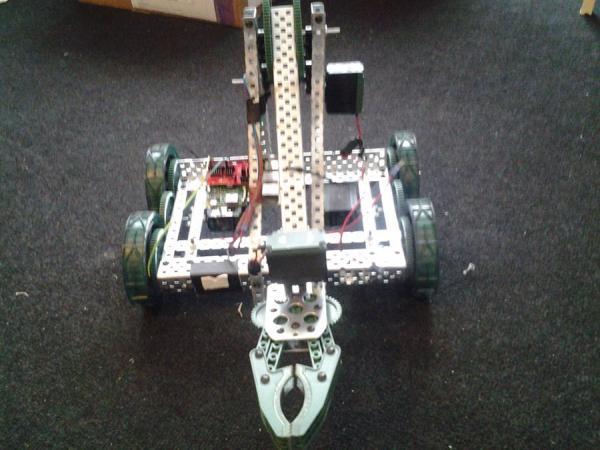 resin io powered vex robot