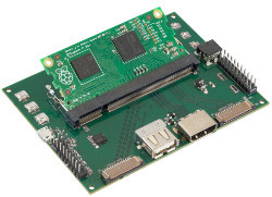 Pi Compute Dev Board with RPi Compute Module