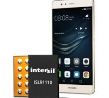 Intersil's High Current Switching Regulators Adopted in Huawei P9 Smartphone