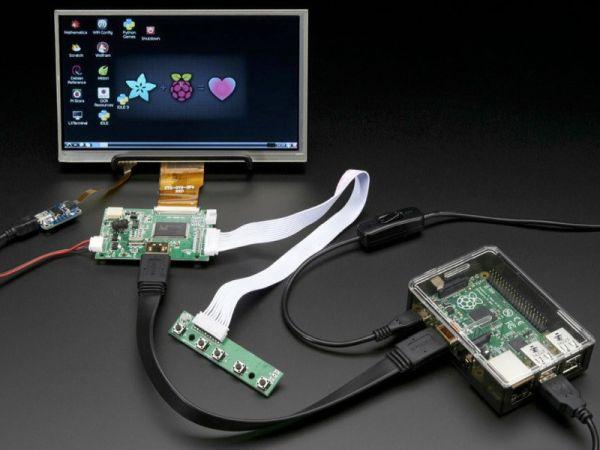 Adafruit 7-in. LCD TFT touchscreen