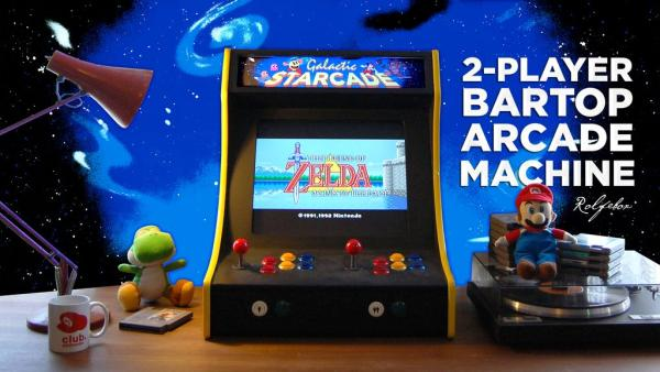 2-Player Bartop Arcade Machine