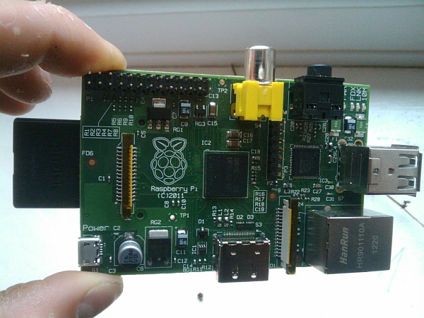 PICAXE Raspberry Pi ADC