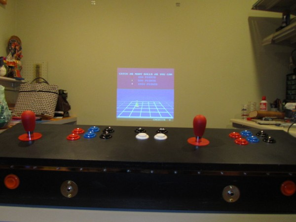 The battery-powered MAME system