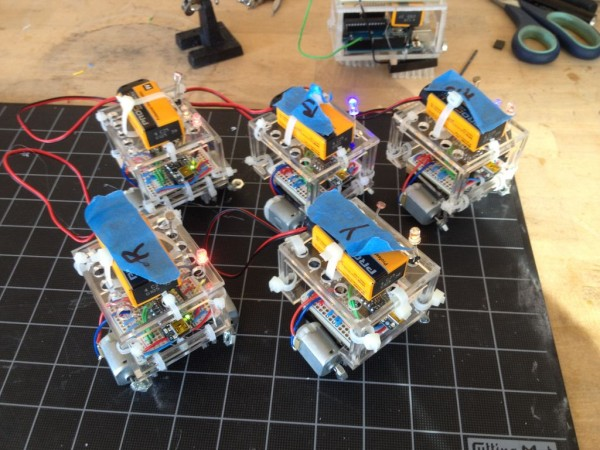 Explorations into Swarm Robotics