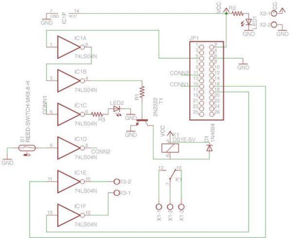 Garage door controller using Raspberry-Pi