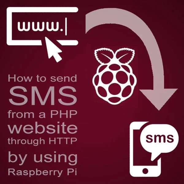 How to send SMS from a PHP website through HTTP by using Raspberry Pi