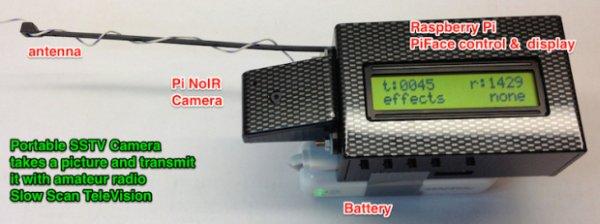 Raspberry Pi Slow Scan Television (SSTV) Camera