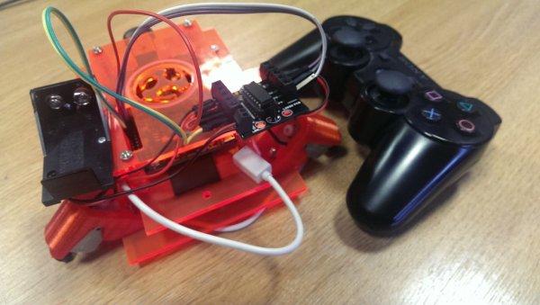 Remote Raspberry Pi Robot
