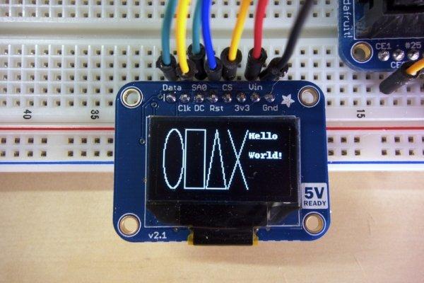 SSD1306 OLED Displays with Raspberry Pi and BeagleBone Black