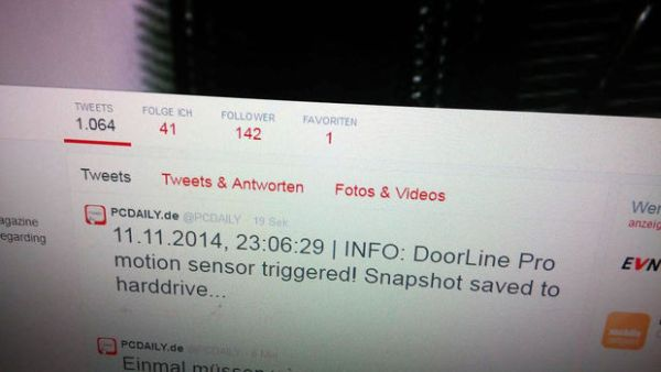 The Tweeting Intercom