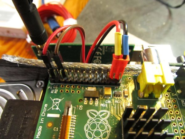 A Raspberry Pi or Mr. Clock-workers server