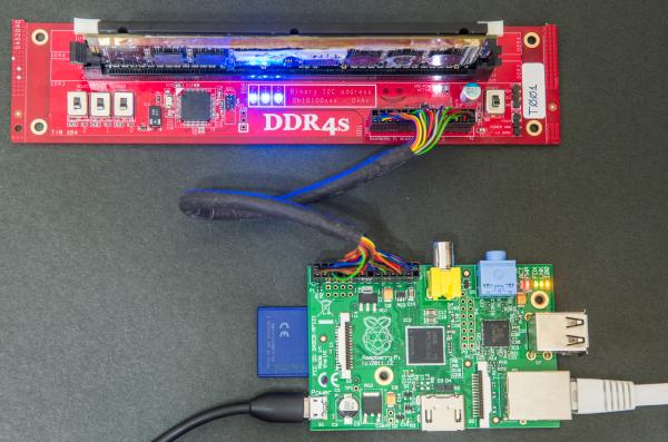 DDR DIMM SPD Adapter for Raspberry Pi