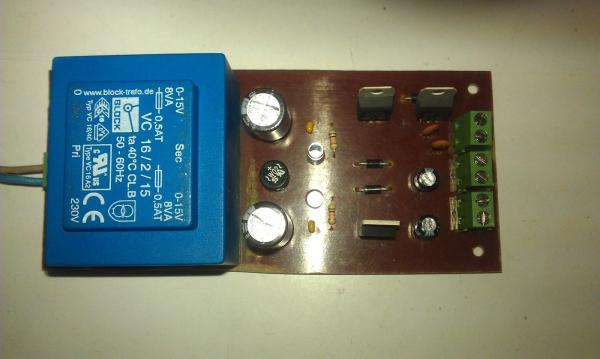 Display and Control Section for AD9835 project
