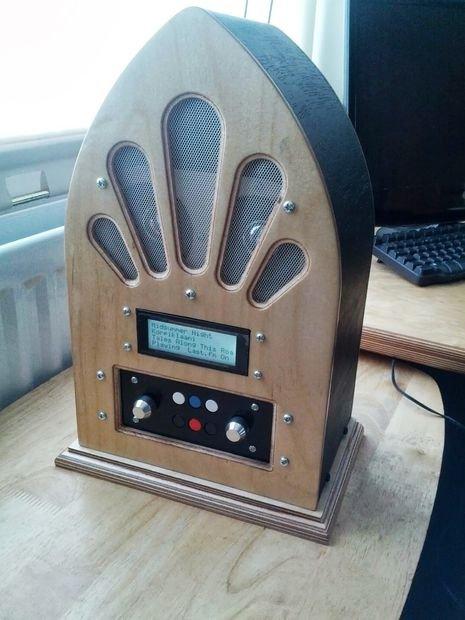 Google Play Music Internet Radio (Raspberry Pi and Arduino)