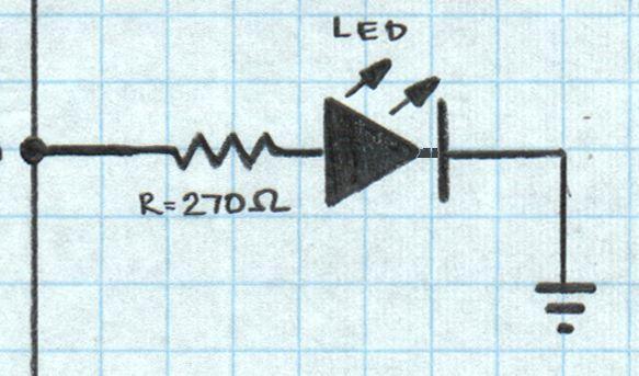 LED Blinking with Raspberry Pi circuit