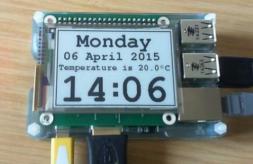 Neat E-ink HAT for Raspberry Pi