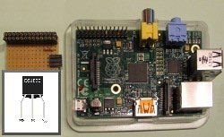 1-wire temperature sensor DS1820 at Raspberry Pi (GPIO directly)