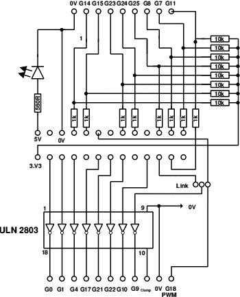 A Raspberry Pi Interface Board Schematic