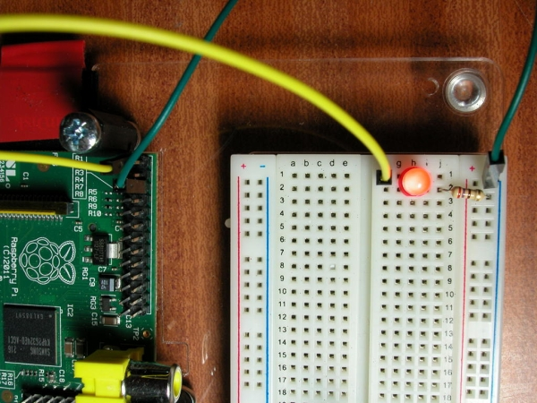 A single LED
