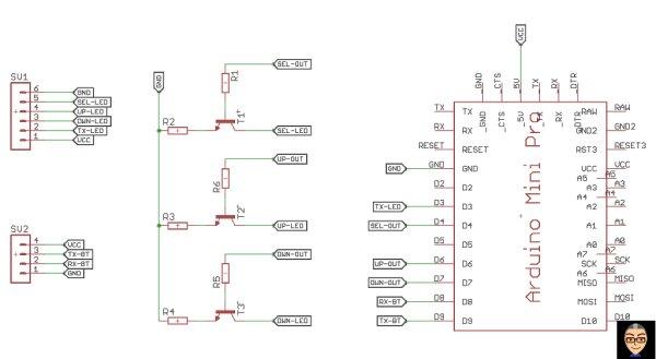 AM03127 LED marquee + Arduino + Bluetooth = RaspberryPi