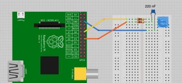 Analog Sensors without Analog Inputs on the Raspberry Pi