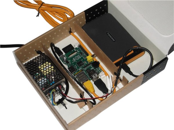 Build a network-attached storage (NAS) with your Raspberry Pi and an external USB hard drive.