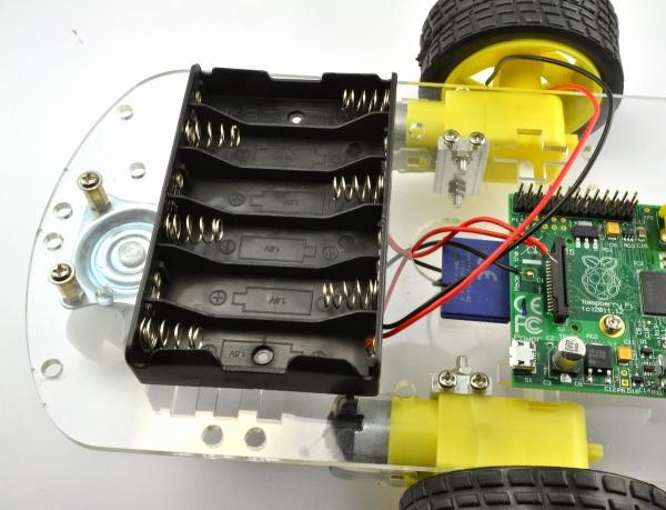 Building the MonkMakes Raspberry Pi Robot Kit