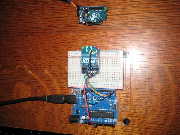 Configuration Utilities for XBee Radios Board Circiut