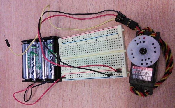 Controlling a Servo Motor