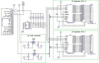 IO Pi schematic