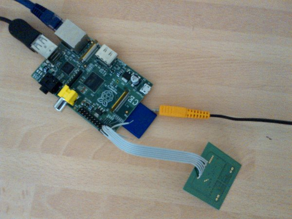 Interface I2C with the Raspberry Pi