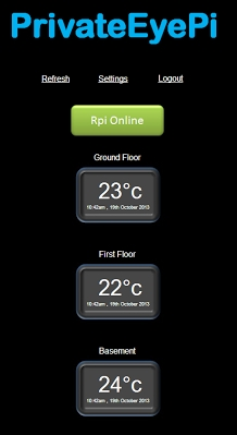 Monitor your home temperature using your Raspberry Pi