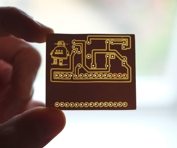 PCB designing and isolation milling using only free Software