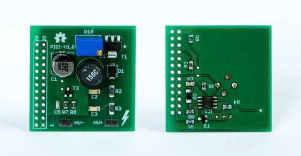 PiGI - Raspberry Pi Geiger-Müller Interface board