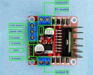 Raspberry Pi Robot - Connecting the H-Bridge & Motors
