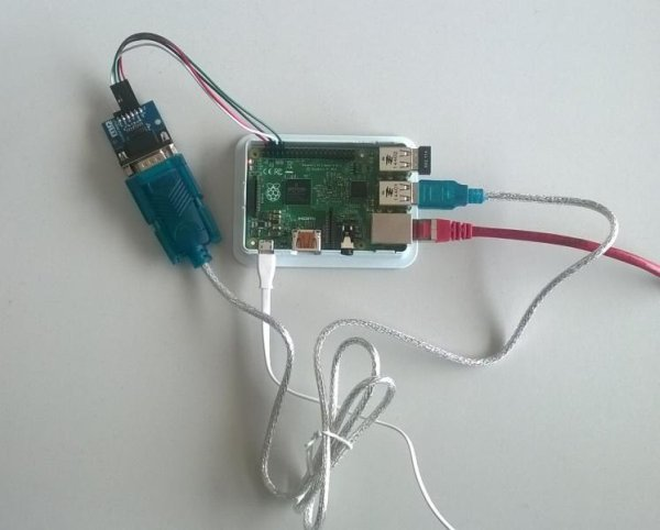 Read and write from serial port with Raspberry Pi