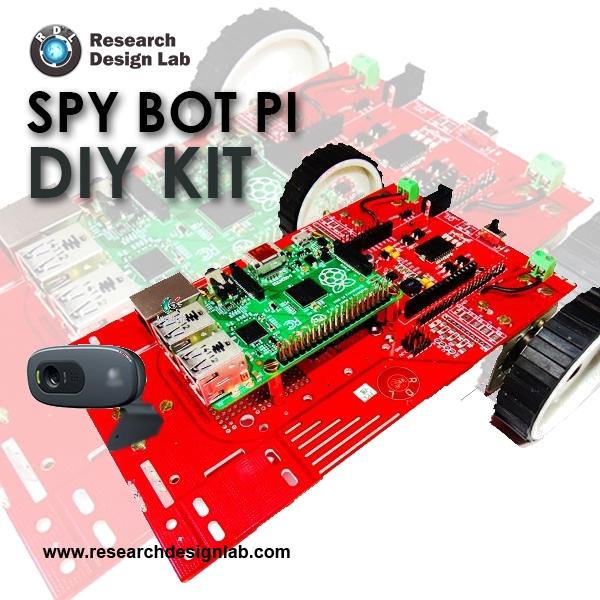 DIY SPY BOT PI Kit- Raspberry PI