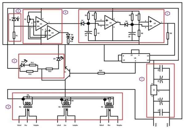 Electronic Circuit Designing Multitasking with Circuits (Part 4) Schematic