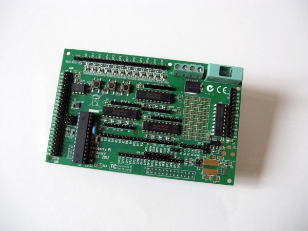 Gertboard – The Ultimate Raspberry Pi Add-on Board