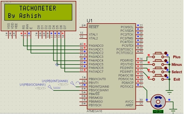 Interface Keyboard Or Rs 232 With Or Without Lcd Display Schematic