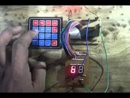 Interfacing hex keypad to 8051