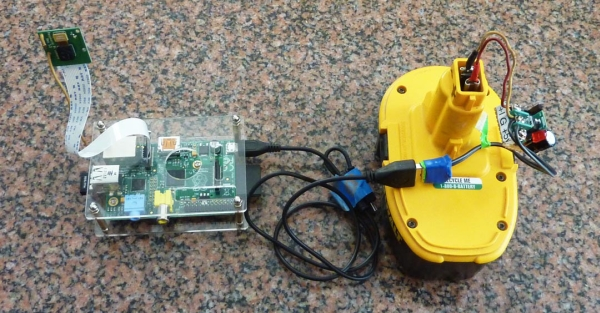 Raspberry Pi to Go How to Wire 18v Portable Pi Power