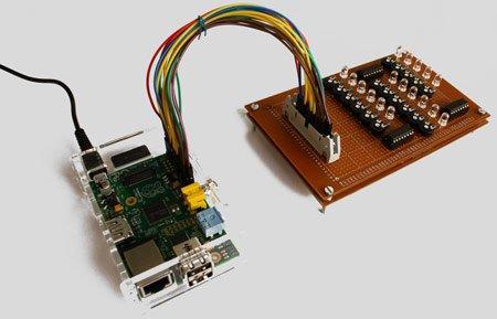 Raspberry Pi Binary LED Clock