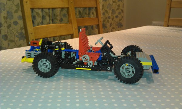 Raspberry Pi Powered Lego Car