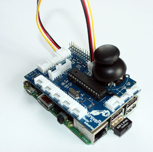 Adding a Joystick to the Raspberry Pi
