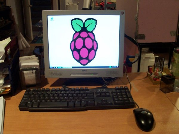 Back-of-Monitor Raspberry Pi Mount