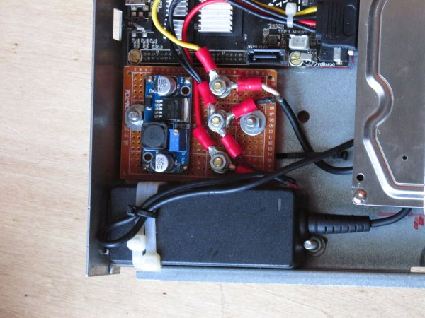 Cubieboard Raspberry Pi Case From Old External Drive